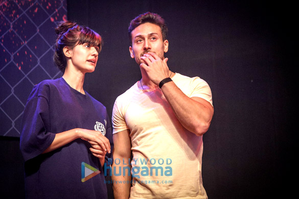 Tiger Shroff snapped at the MTV Super Fight League