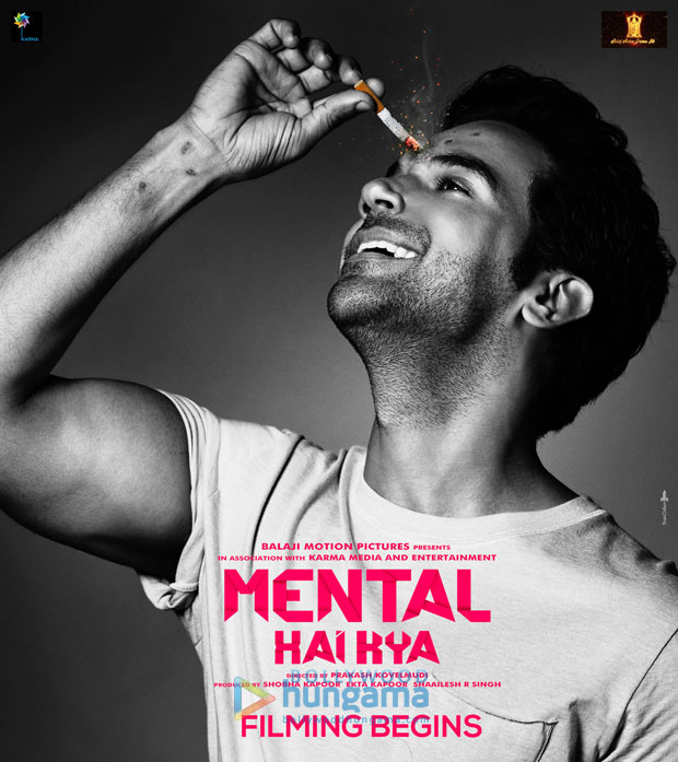 WHOA! Kangana Ranaut bares it all for this poster of Mental Hai Kya