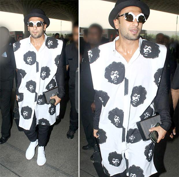 Weekly Airport Style: Ranveer Singh