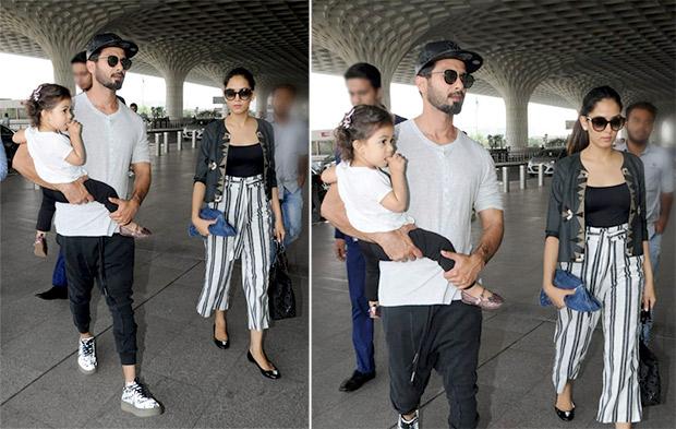 Weekly Airport Style: Shahid Kapoor and Mira Rajput