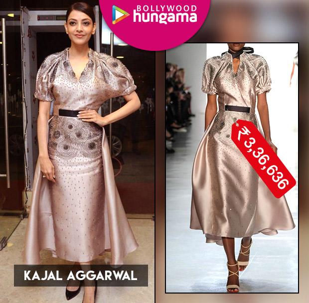 Weekly Celeb Splurges: Kajal Aggarwal