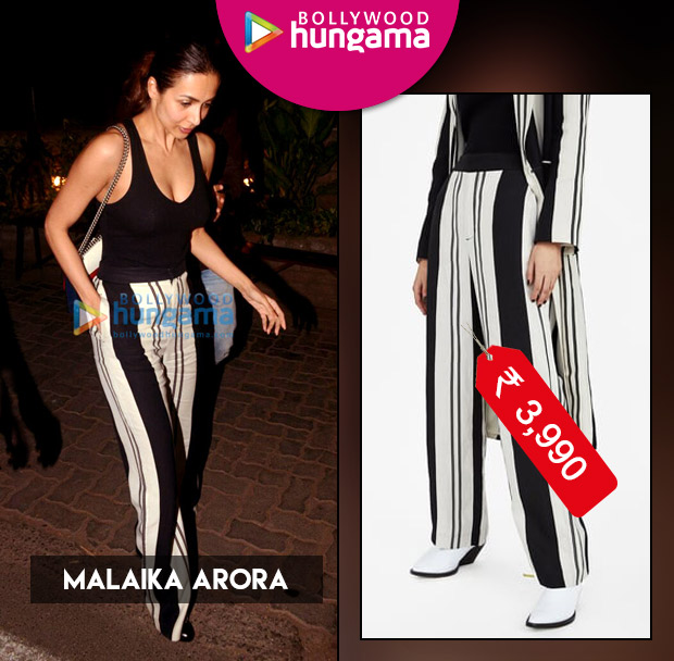 Weekly Celebrity Splurges: Malaika Arora in Zara