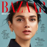 Aditi Rao Hydari on Harper's Bazaar for April 2018