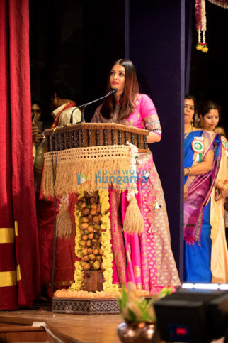 Aishwarya Rai Bachchan honored with the Woman of Substance Award by the Bunts Community