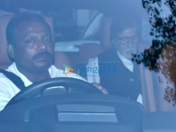 Amitabh Bachchan snapped out and about in Mumbai
