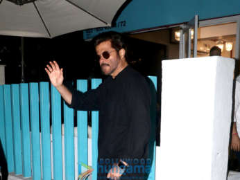 Anil Kapoor snapped at BBlunt