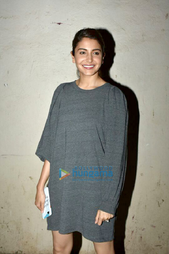 Anushka Sharma snapped at Mehboob Studio in Bandra