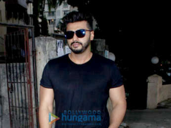 Arjun Kapoor spotted at Shoojit Sircar's office in Juhu