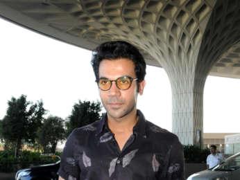 Athiya Shetty, Disha Patani, Shibani Kashyap, and Rajkummar Rao snapped at the airport