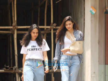 Athiya Shetty spotted at a clinic