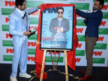 Ayushmann Khurrana graces the cover launch of the magazine Man's World