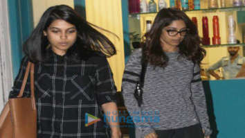 Bhumi Pednekar spotted with her sister at a store in Juhu