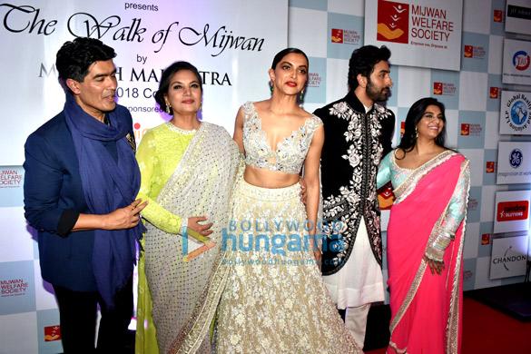 Celebs attend Manish Malhotra's show The Walk of Mijwan