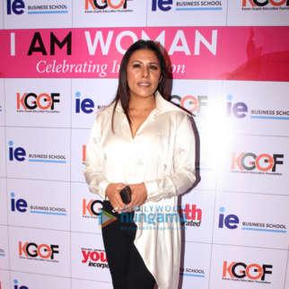 Celebs grace I Am Woman awards