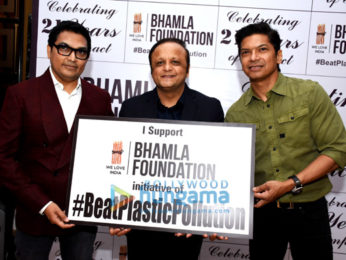 Celebs grace the launch of Bhamla Foundation's #BeatPlasticPollution anthem
