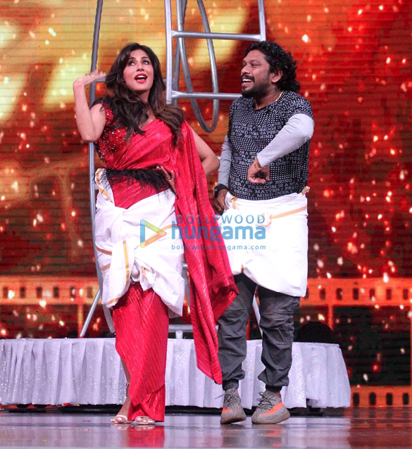 Chitrangada Singh snapped on sets of Fever