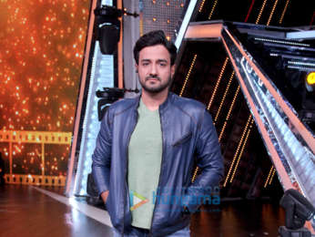 Chitrangda Singh, Siddharth Anand and Marzi Pestonji snapped on sets of DID Li'l Masters Season 4