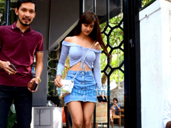 Disha Patani spotted at Korner House in Bandra
