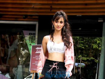 Disha Patani spotted at the Puma store in Khar