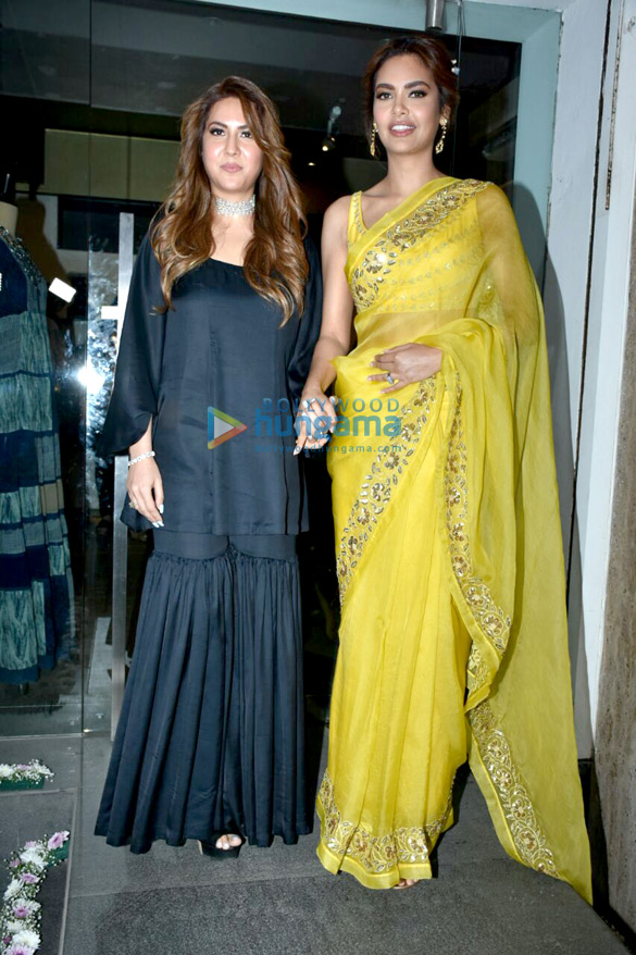 Esha Gupta graces the launch of Neha Gupta's Festive Spring Summer 2018 collection