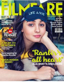 Alia Bhatt On The Cover Of Filmfare