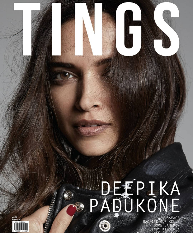 Deepika Padukone graces the cover of Tings London magazine