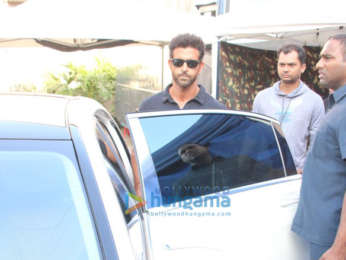 Hrithik Roshan, Shah Rukh Khan and Katrina Kaif snapped at Mehboob Studio