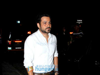 Imraan Hashmi spotted at BKC