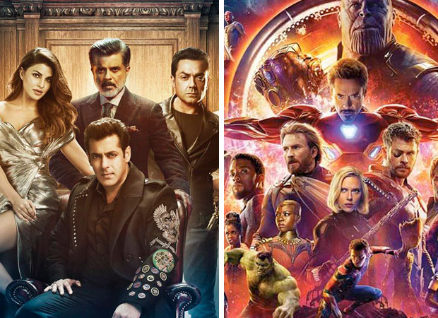 Is the theatrical trailer of Salman Khan starrer Race 3 being attached to Avengers: Infinity War?