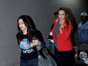 Iulia Vantur and Preity Zinta snapped at the airport