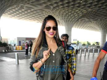 Karan Singh Grover, Bipasha Basu and Kartik Aaryan snapped at the airport