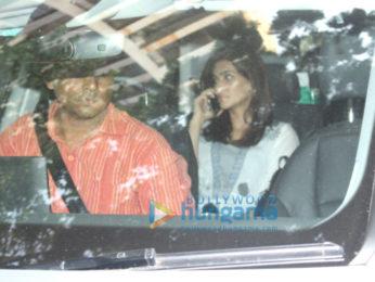 Kriti Sanon spotted at Sanjay Leela Bhansali's home in Juhu