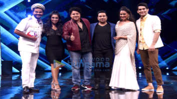 Lara Dutta and Sajid Khan at High Fever sets