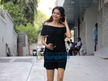 Mithila Palkar snapped in Bandra