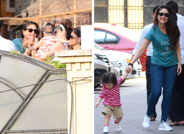 Taimur and Kareena Kapoor Khan