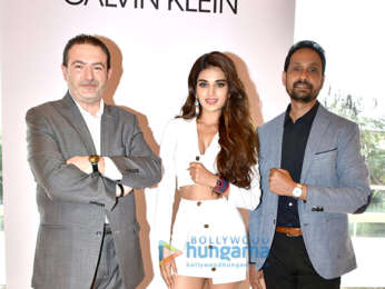 Nidhhi Agerwal promotes Calvin Klein watches