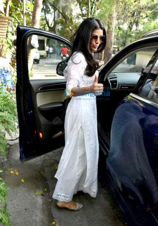 Nimrat Kaur spotted in Juhu