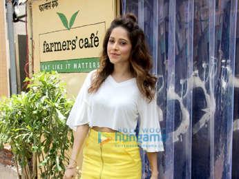 Nushrat Bharucha snapped at Farmer's Cafe