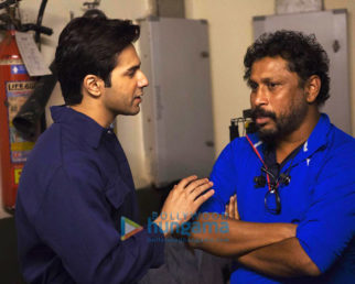 On The Sets Of The Movie October