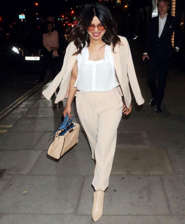 Priyanka Chopra is all smiles in London