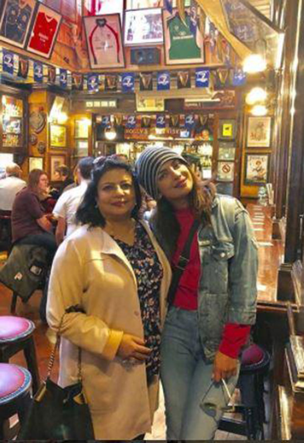 Priyanka Chopra wraps up Quantico third season, chills with mom and cast (view pictures)