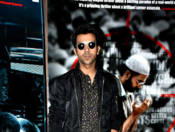 Rajkummar Rao snapped promoting his film Omerta