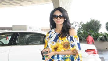 Ranbir Kapoor and Mallika Sherawat snapped at the airport