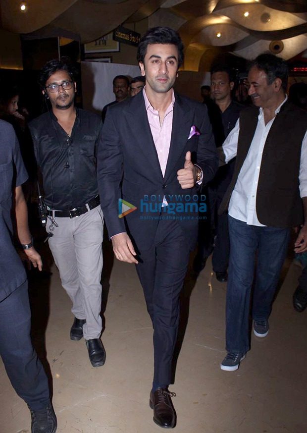 Ranbir Kapoor in Tom Ford and Bally
