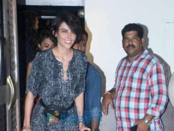 Ranveer Singh, Shraddha Kapoor and Mandana Karimi spotted at Bastian in Bandra