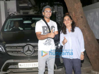 Ranveer Singh spotted at Physio Rehab center in Bandra
