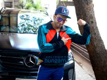 Ranveer Singh spotted at the physio rehab clinic in Bandra