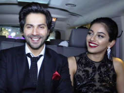 SENSATIONAL craze for Varun Dhawan at October Premiere In Dubai