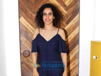 Sanya Malhotra snapped in Mumbai