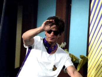 Shah Rukh Khan and Suhana Khan snapped at Eden Garden